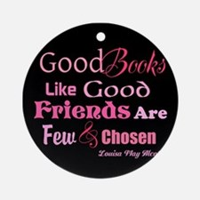 Books & Friends Ornament (Round)