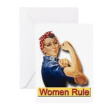 Women Rule Greeting Cards (Pk of 10)