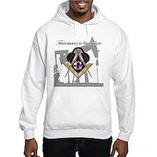Freemasonry in the Bakken Hoodie