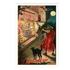 Watchful Witch Postcards (Package of 8)