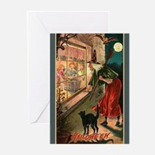 Watchful Witch Greeting Cards (Pk of 10)
