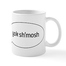 yok shmosh speech Mug