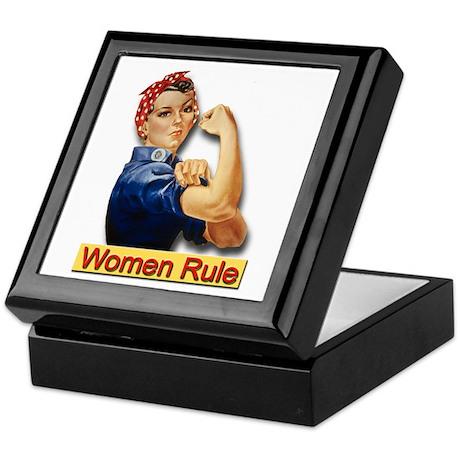 Women Rule Keepsake Box