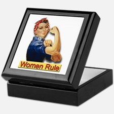 Women Rule Keepsake Box