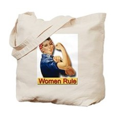 Women Rule Tote Bag