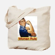Women Rule Tote Bag