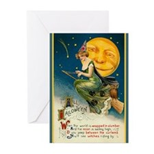 Witch Moon Greeting Cards (Pk of 10)