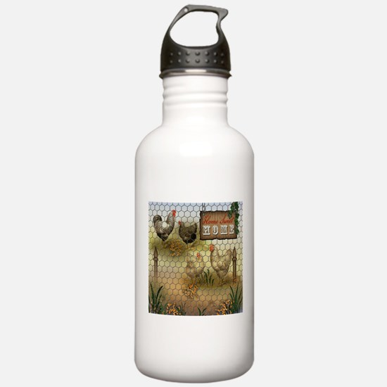Home Sweet Home Chicke Water Bottle