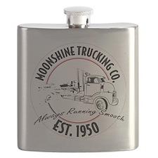 Cute Tow truck Flask