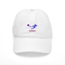 Chile Soccer Player Baseball Cap