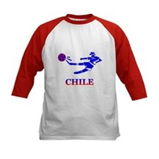 Chile Soccer Player Tee