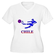 Chile Soccer Player T-Shirt