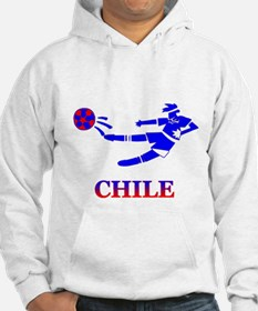 Chile Soccer Player Hoodie