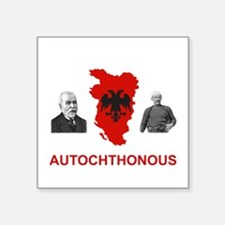 Autochthonous Albania Sticker