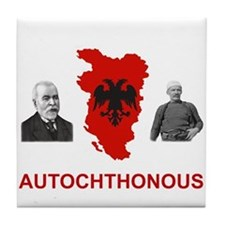 Autochthonous Albania Tile Coaster