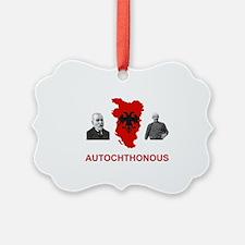 Autochthonous Albania Ornament