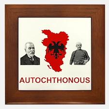 Autochthonous Albania Framed Tile