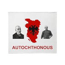 Autochthonous Albania Throw Blanket