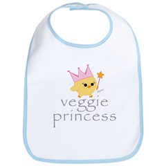 Veggie Princess Bib