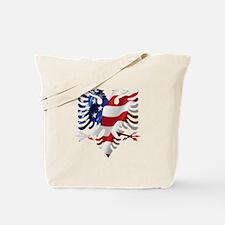 Albanian American Eagle Tote Bag