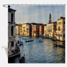 Unique Venice italy Shower Curtain