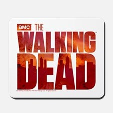The Walking Dead Blood Logo Mousepad
