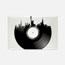 New York City Vinyl Record Magnets
