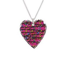 Holiday Lights on Pink! Necklace