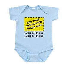 Custom Image & Message Infant Bodysuit