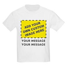 Custom Image & Message T-Shirt