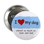 I LOVE MY DOG 2.25