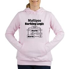 Maltipoo Logic Women's Hooded Sweatshirt