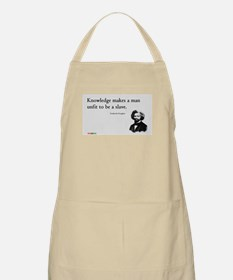 Frederick Douglas - Unfit to be a Slave Apron