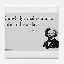 Frederick Douglas - Unfit to be a Slave Tile Coast