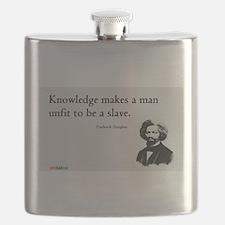 Frederick Douglas - Unfit to be a Slave Flask