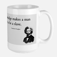 Frederick Douglas - Unfit to be a Slave Mugs