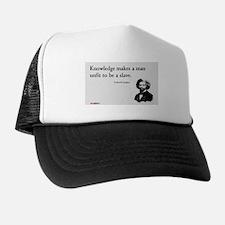 Frederick Douglas - Unfit to be a Slave Trucker Hat