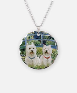 Bridge-2 Westies Necklace