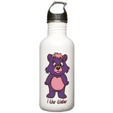 I Wuv Water Stainless Water Bottle 1.0l