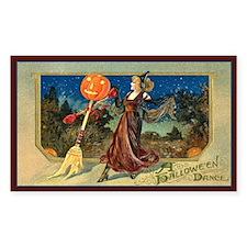 Halloween Dance Rectangle Decal