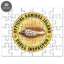 Sanibel Island Shell Inspector Puzzle