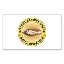 Sanibel Island Shell Inspector Decal