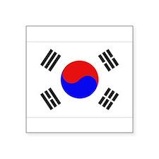 "Cute Ansan Square Sticker 3"" x 3"""