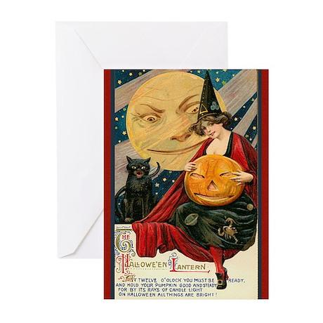 Halloween Lantern Greeting Cards (Pk of 10)