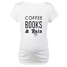 Coffee book and rain Shirt