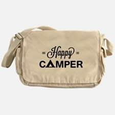 Cute happy camper Messenger Bag