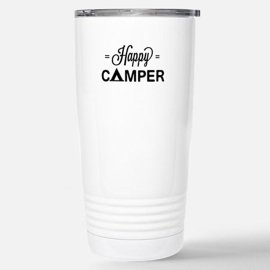 Cute happy camper Travel Mug