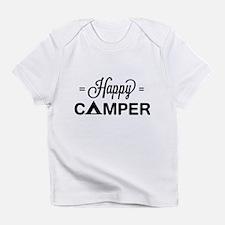Cute happy camper Infant T-Shirt