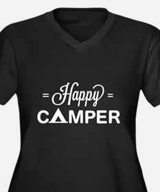 Cute happy camper Plus Size T-Shirt