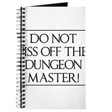 Do not piss off the dungeon master! Journal